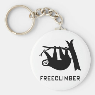 sloth lazy animal more climber more freeclimber fr key ring