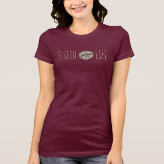 Sloth Life Face T-Shirt