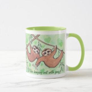 Sloth Love Valentine Mug