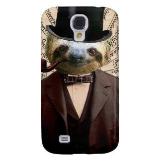 Sloth Man Victorian Steampunk Anthropomorphic Galaxy S4 Case