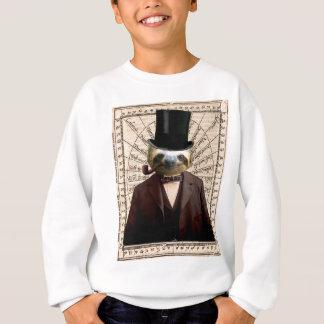 Sloth Man Victorian Steampunk Anthropomorphic Sweatshirt