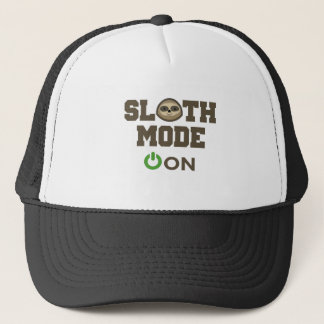 Sloth Mode On Trucker Hat
