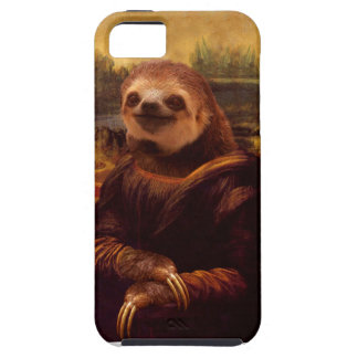 Sloth Mona Lisa Case For The iPhone 5