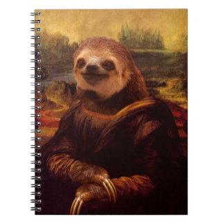Sloth Mona Lisa Notebook