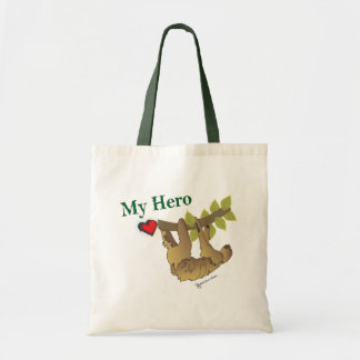 SLOTH- My Hero Tote Bag