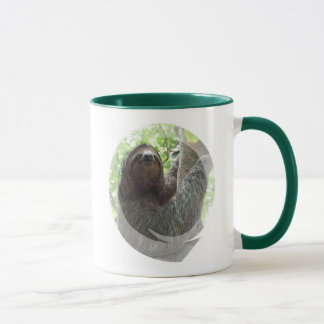 Sloth Photo Design Ceramic Coffee Mug