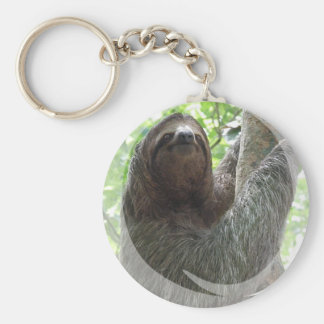 Sloth Photo Design Keychain