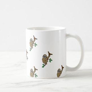 Sloth Print Mug