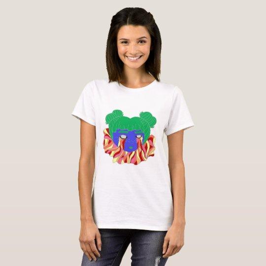 Sloth Psych Girl T-Shirt