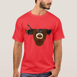 Sloth Red T-Shirt