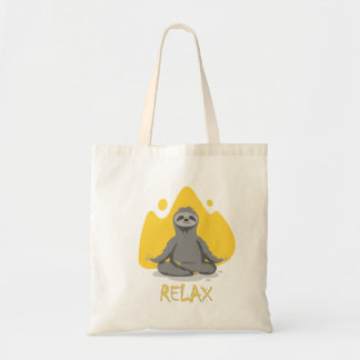 Sloth Relax Tote Bag