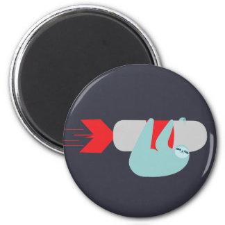 Sloth Rocket Magnet