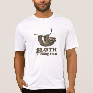 Sloth Running Team (for light apparel) T-Shirt