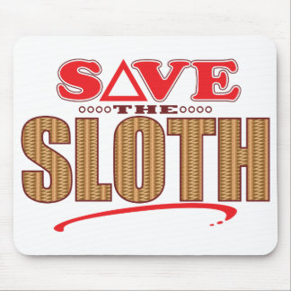 Sloth Save Mouse Mat