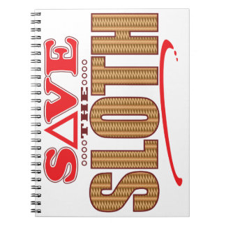 Sloth Save Notebook