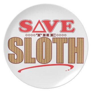 Sloth Save Plate