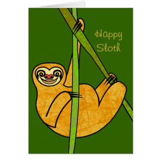 Sloth Tarjeton