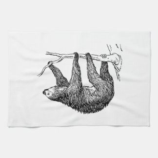 Sloth Tea Towel