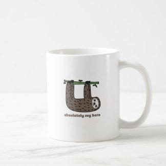Sloth the Hero Basic White Mug