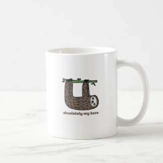 Sloth the Hero Coffee Mug