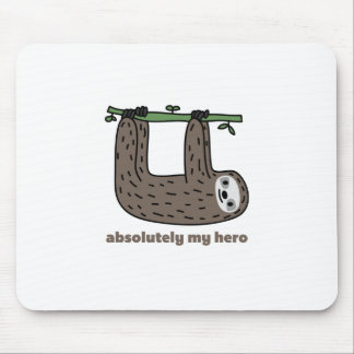 Sloth the Hero Mouse Mat