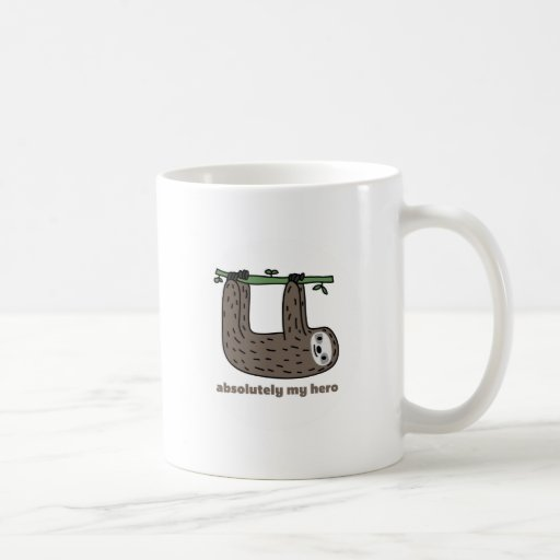 Sloth the Hero Coffee Mugs
