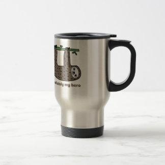 Sloth the Hero Travel Mug