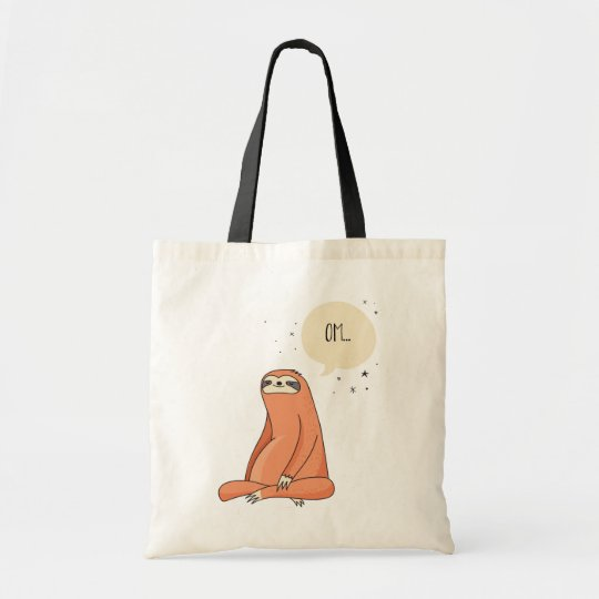 Sloth Yoga Funny Sloth Lover Tote Bag