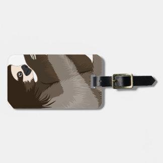 slothcolour luggage tag