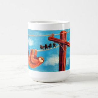 Sloth's Day Out Coffee Mugs