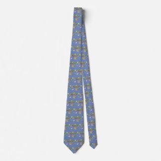 Sloths Galore-Slate Blue Necktie
