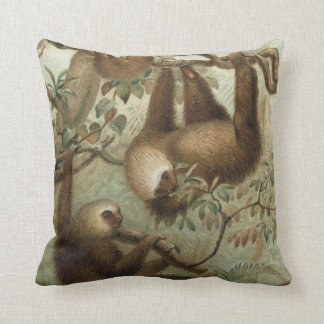 Sloths In Trees Cushion