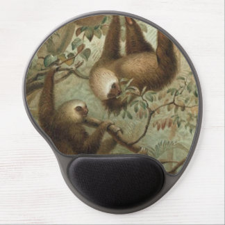 Sloths In Trees Gel Mouse Mat