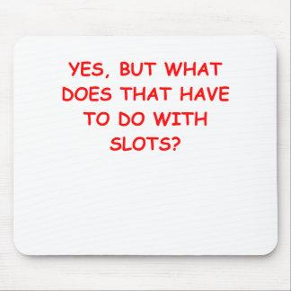 slots mouse pad