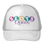 Slots Queen Cap Mesh Hats