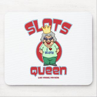 Slots Queen - Las Vegas Nevada Mouse Pads