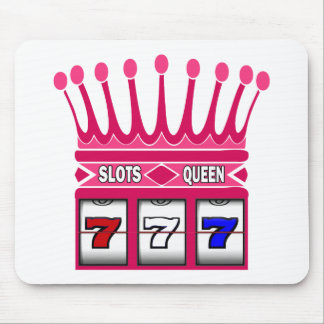 Slots Queen Mouse Pad