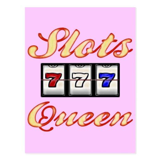 Slots Queen Post Cards