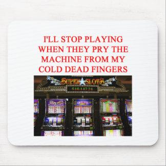 SLOTS slot machine Mouse Mat