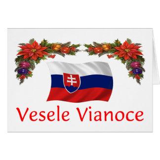 Slovak Christmas Card