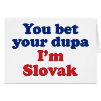 Slovak Dupa 1 Card