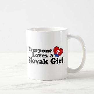 Slovak Girl Coffee Mug