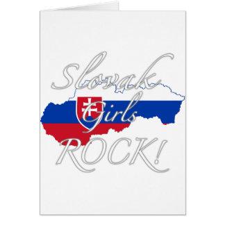 Slovak Girls Rock! Card