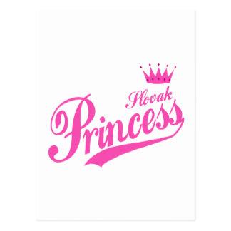 Slovak Princess Postcard