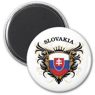 Slovakia 6 Cm Round Magnet