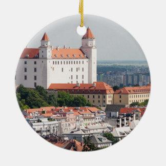 Slovakia Bratislava Christmas Ornament