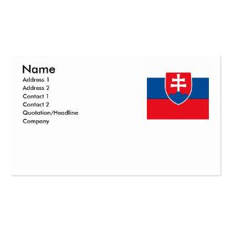 Slovakia Business Card Templates