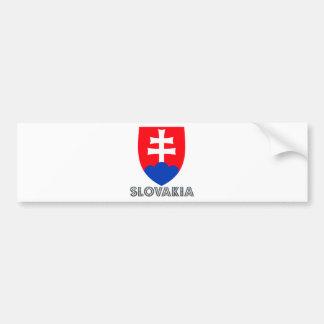 Slovakia Coat of Arms Bumper Sticker