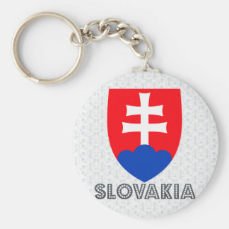 Slovakia Coat of Arms Key Ring