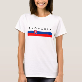 Slovakia country flag nation symbol T-Shirt